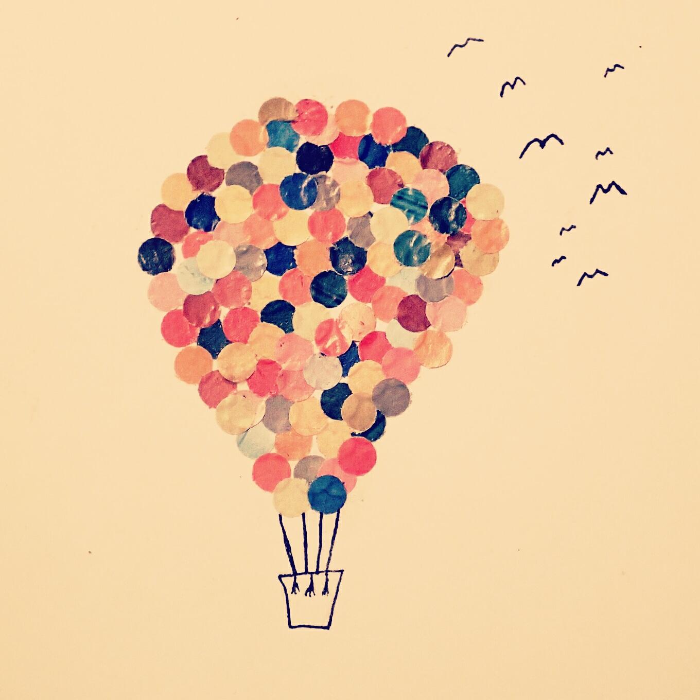 Skrivutmaningen: En färd med varmluftsballong